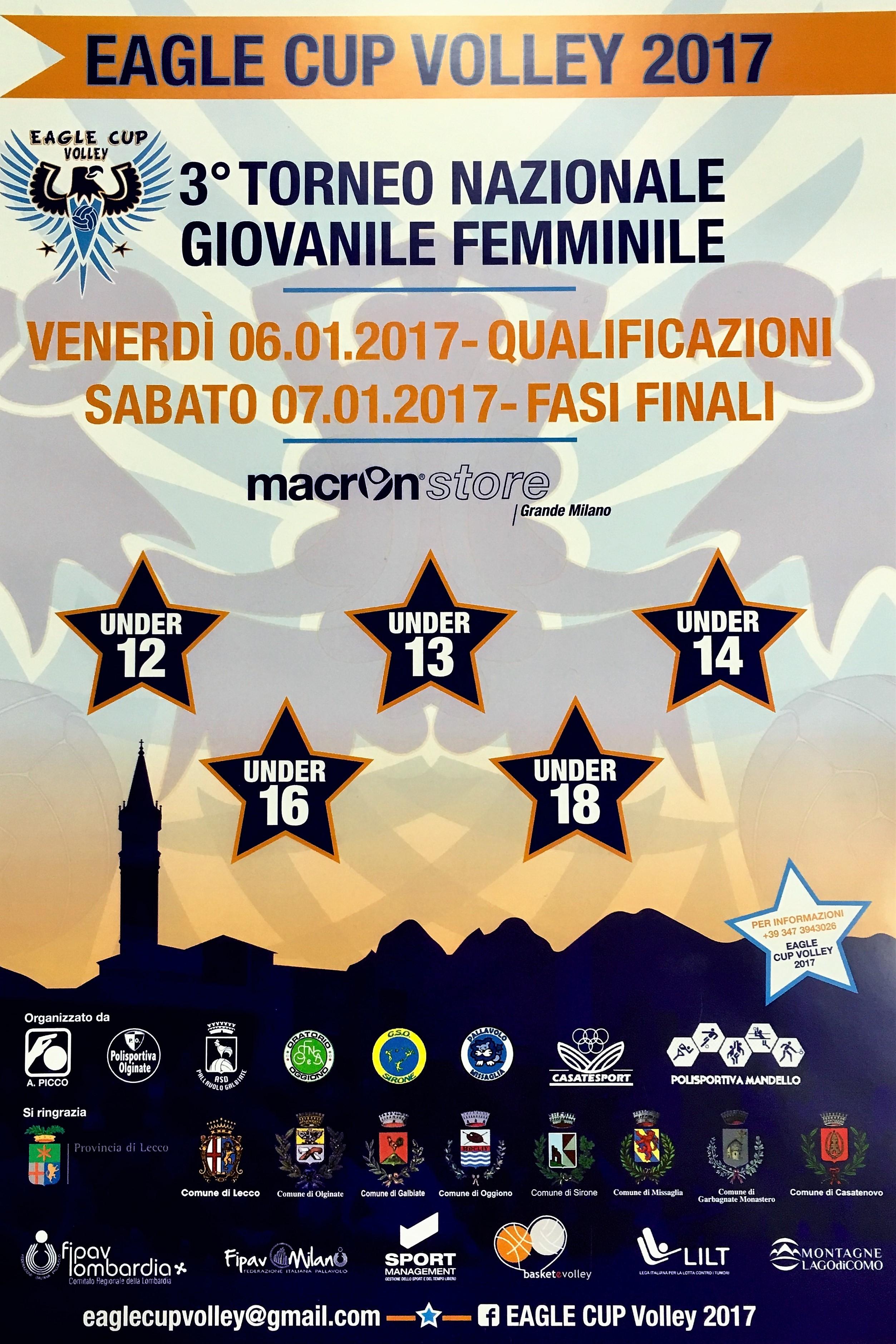 Locandina Eagle Cup 2017 FB