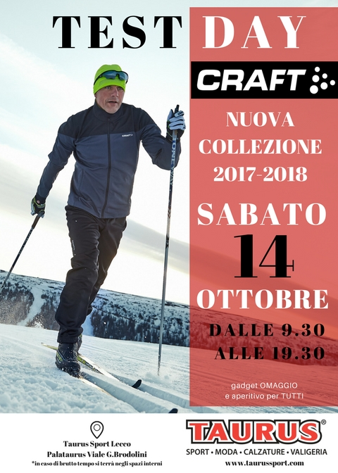CRAFT TEST DAY: Sport E Tecnicità Al Palataurus