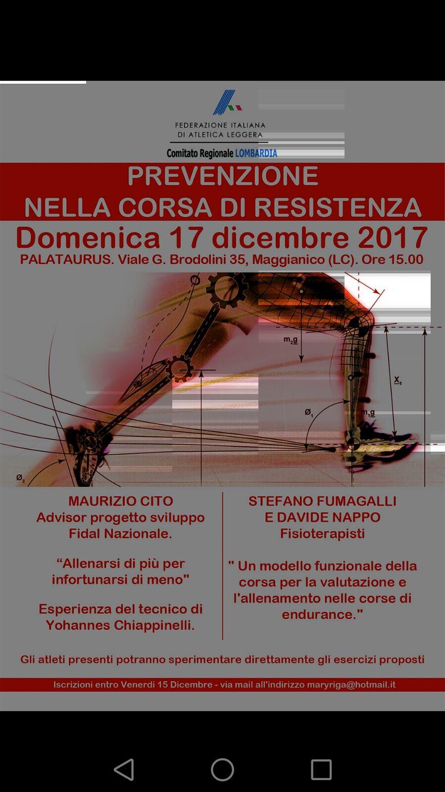 Prevenzione Nelle Corse Di Resistenza: Sport E Benessere In Un Seminario Al Palataurus